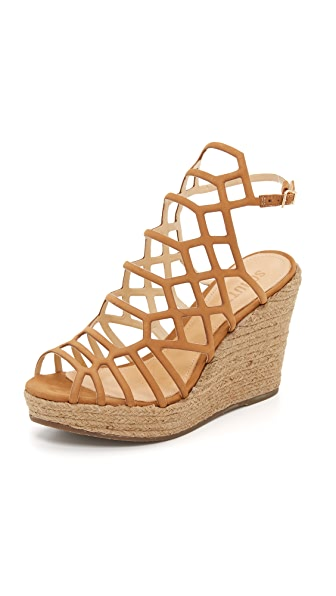 Schutz Marilyn Wedge Sandals
