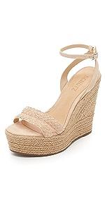 Adamina Wedge Sandals                Schutz
