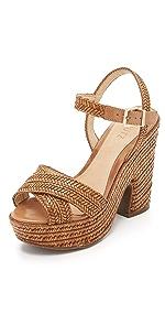 Aileen Platform Sandals                Schutz