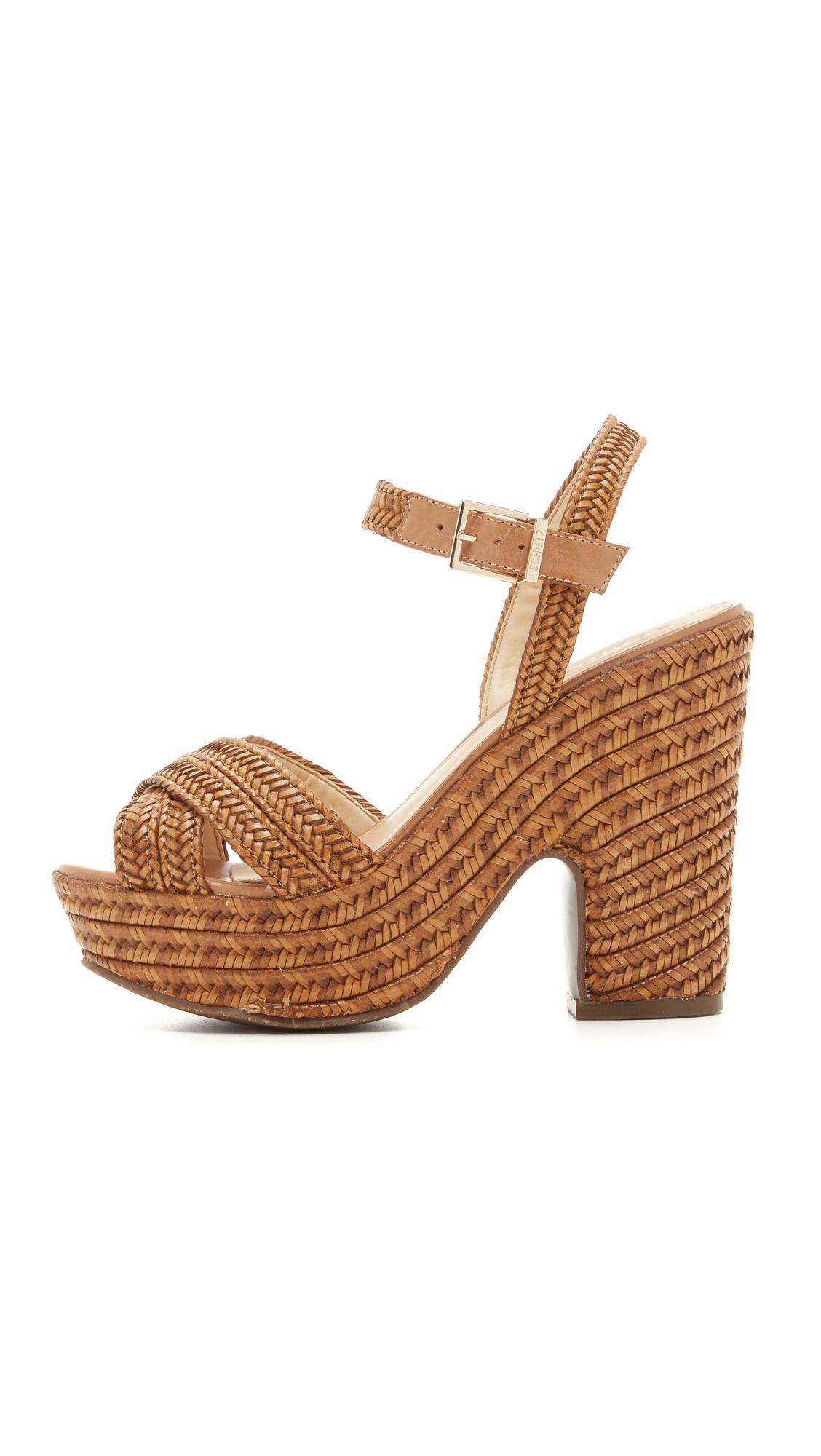 c9d52f56ca5f Schutz Aileen Platform Sandals