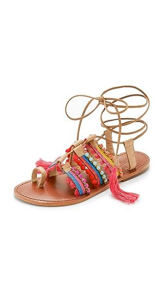 Schutz Patricia Flat Sandals
