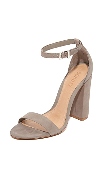 Schutz Enida Sandals - Mouse
