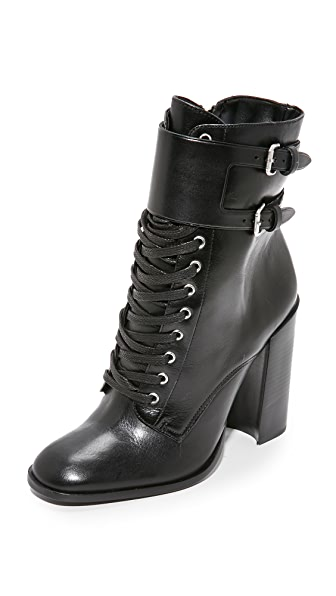 Schutz Makayla Leather Booties