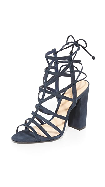 Schutz Loriana Caged Sandals