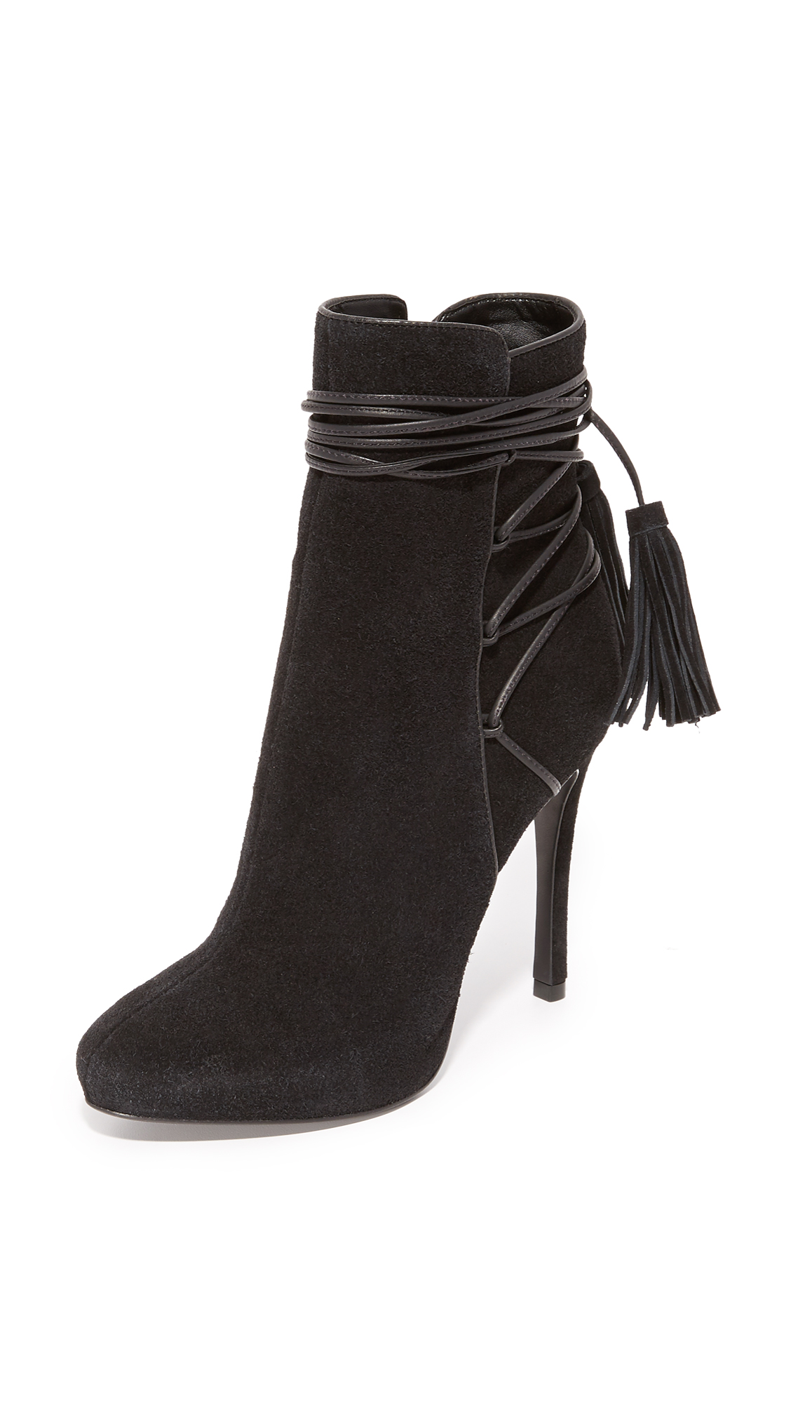 Schutz Briella Booties - Black