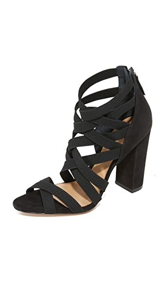 Schutz Stanly Strappy Sandals - Black