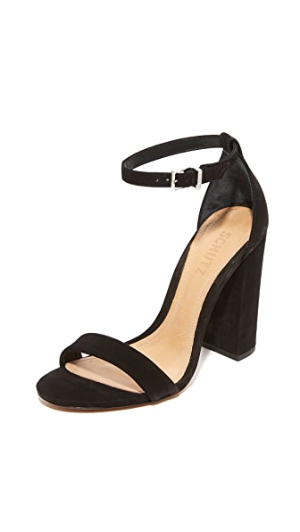 Schutz Enida Sandals - Black