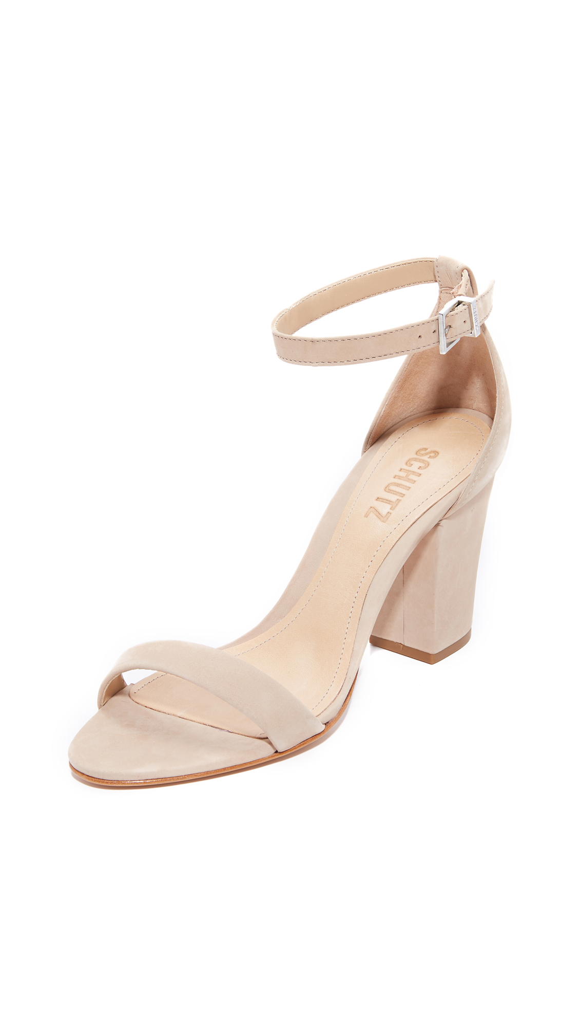 Schutz Jenny Lee Sandals - Amber Light