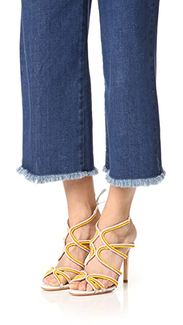 Schutz Meera Ankle Tie Sandals