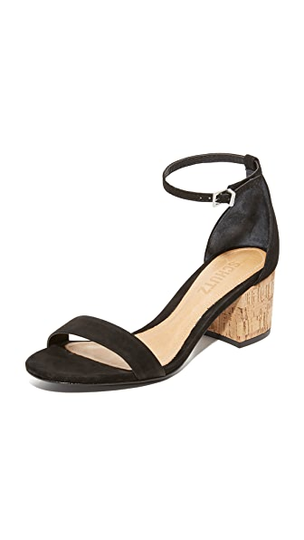 Schutz Chimes City Sandals - Black