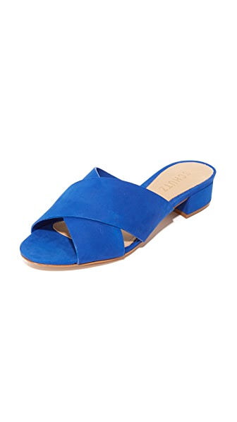 Schutz Barbarella Mules - Royal