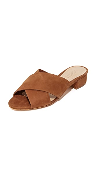 Schutz Barbarella Mules - Saddle