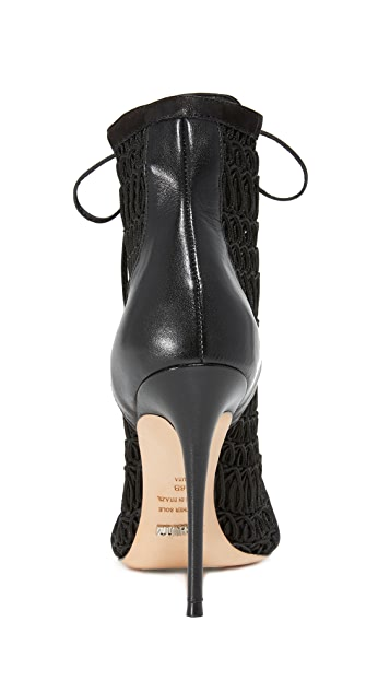 Schutz Jolana Lace Up Booties