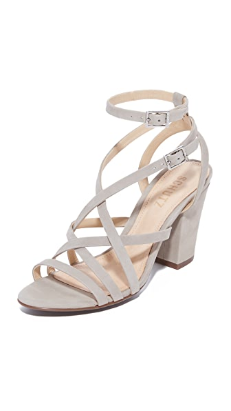 Schutz Karls Sandals - Ciment