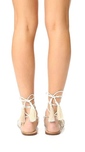 Schutz Jolina Wrap Sandals