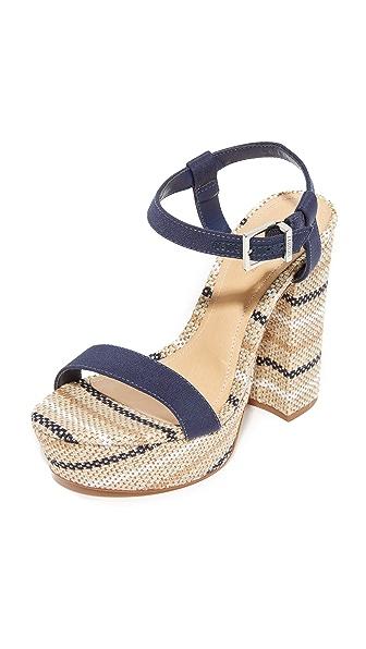 Schutz Marlan Platform Sandals - Sailfish