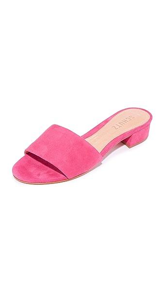 Schutz Elke Slides - Rose Pink