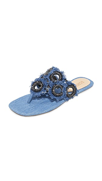 Schutz Wally Thong Sandals