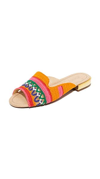 Schutz Alexane Slides - Multicolor
