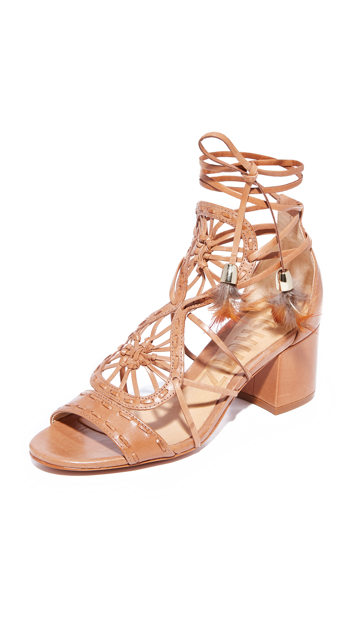 Schutz Alianna City Sandals - Desert