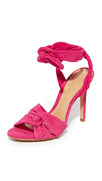 Schutz Monia Sandals - Rose Pink