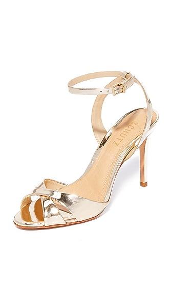 Schutz Olyvia Sandals - Platina