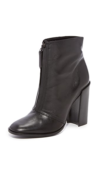 Schutz Pepper Ankle Booties - Black