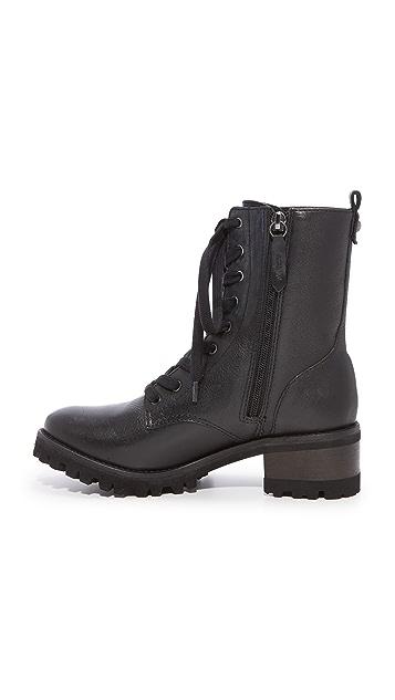Schutz Zumira Lace Up Combat Boots