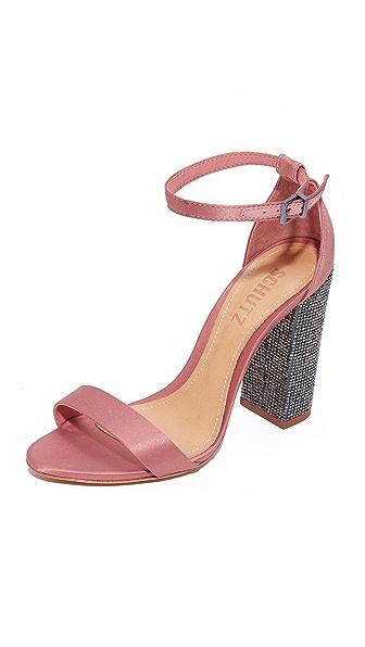 Schutz Hara Strappy Heels