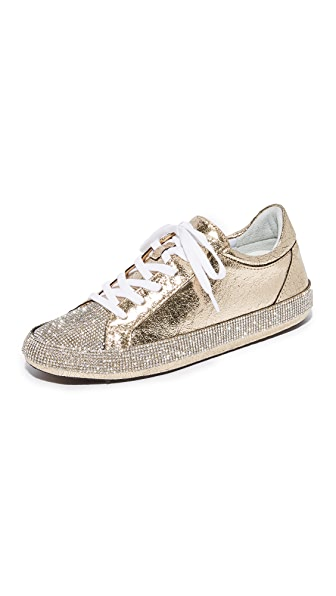 Schutz Stelen Two Tone Sneakers - Platina