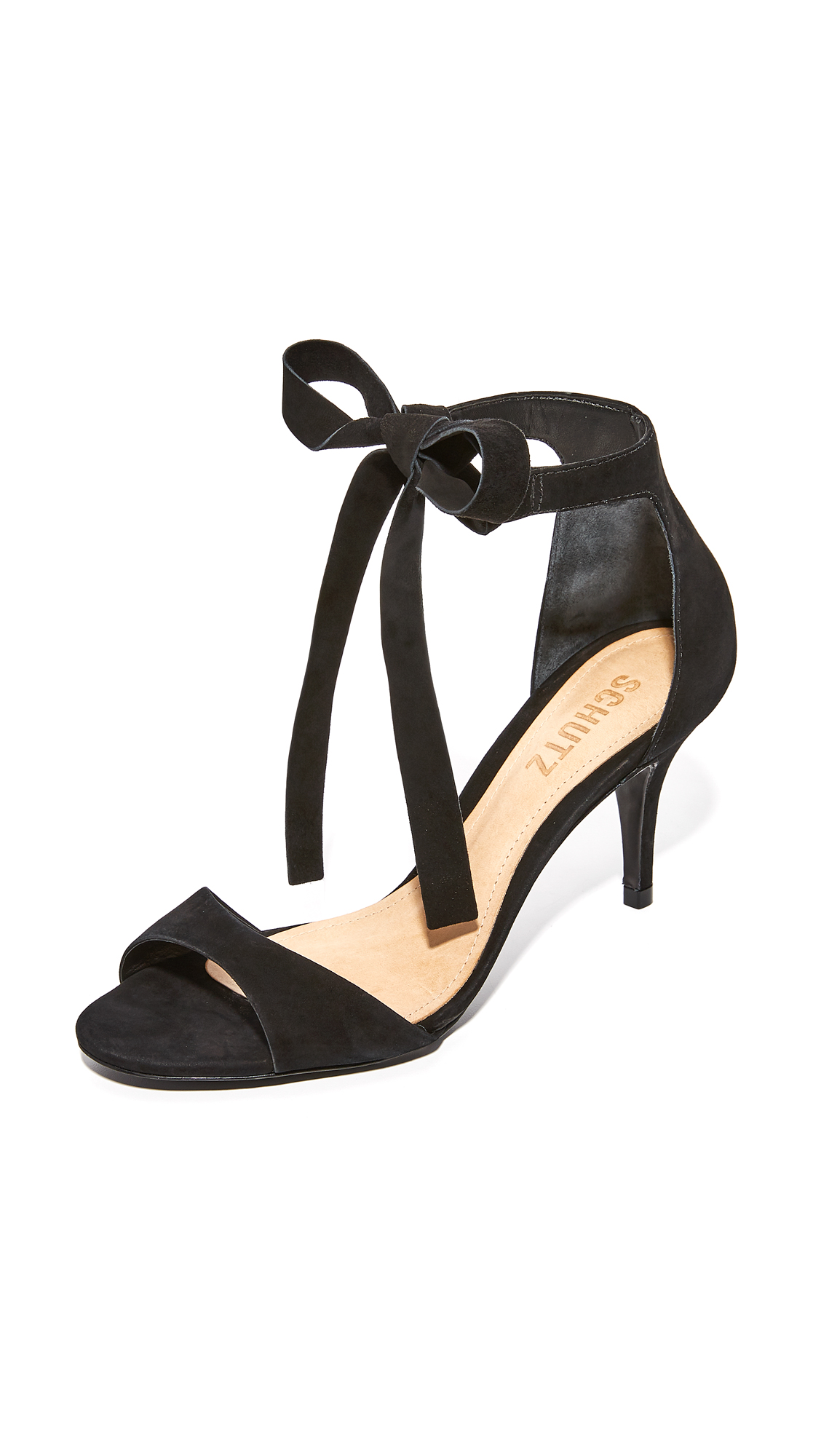 Schutz Tilan Wrap Pumps - Black