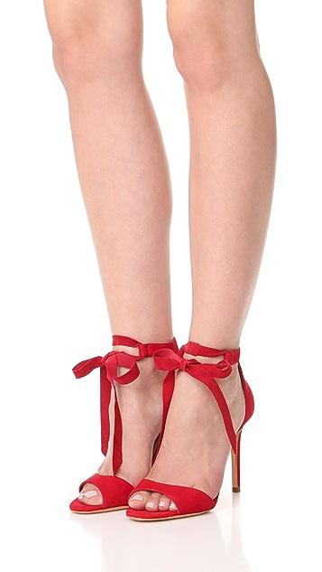 Schutz Rene Tie Sandals