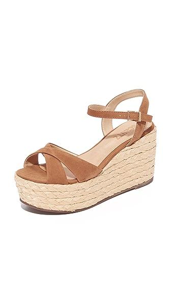 Schutz Keisi Platform Sandals - Desert