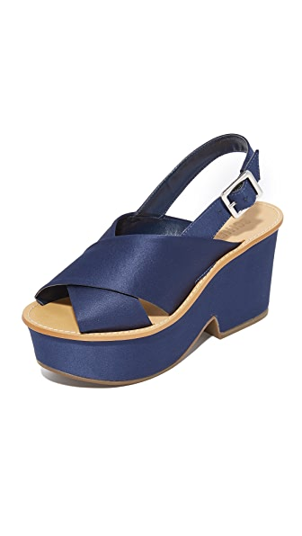 Schutz Miriam Platform Sandals - Sailfish