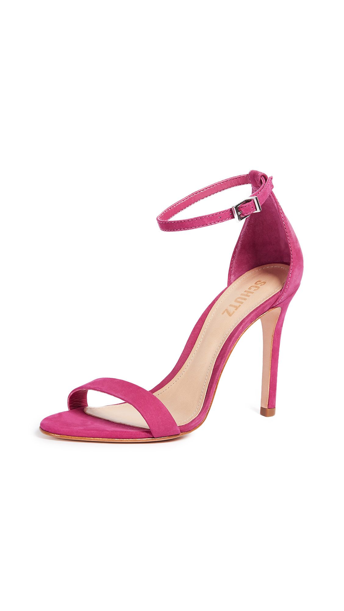 Schutz Cadey Lee Sandals - Bright Rose