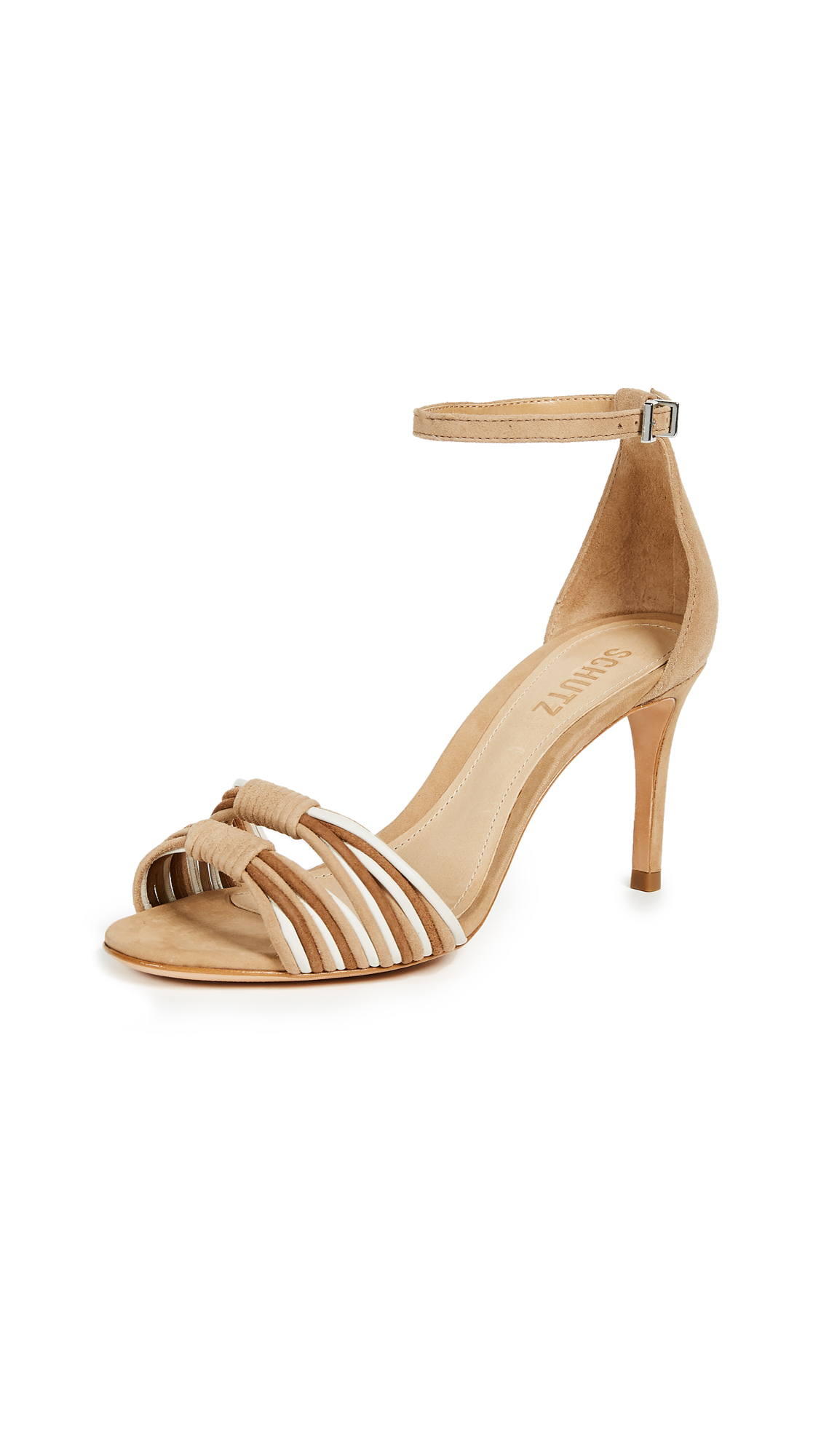 Schutz Joolian Ankle Strap Sandals - Multi