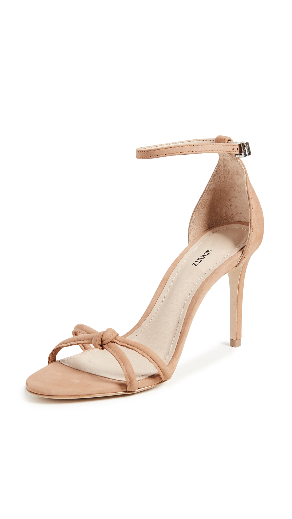 Schutz Rhana Strappy Sandals - Toasted Nut