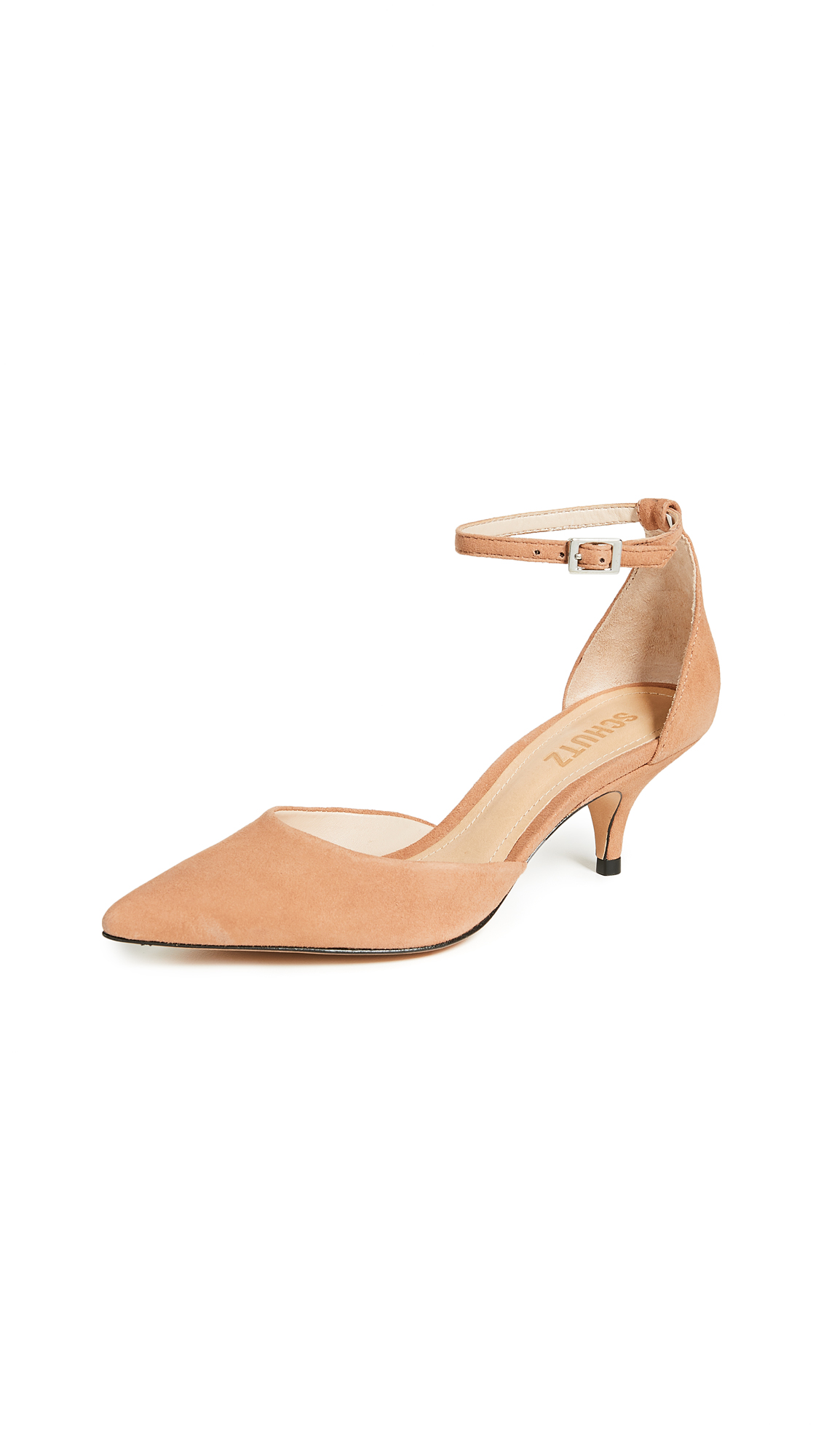 Schutz Kamilli dOrsay Pumps - Toasted Nut