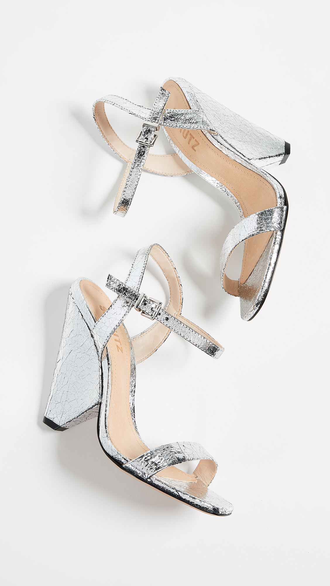 7e3159fdc9 Schutz Liliane Metallic Sandals | SHOPBOP