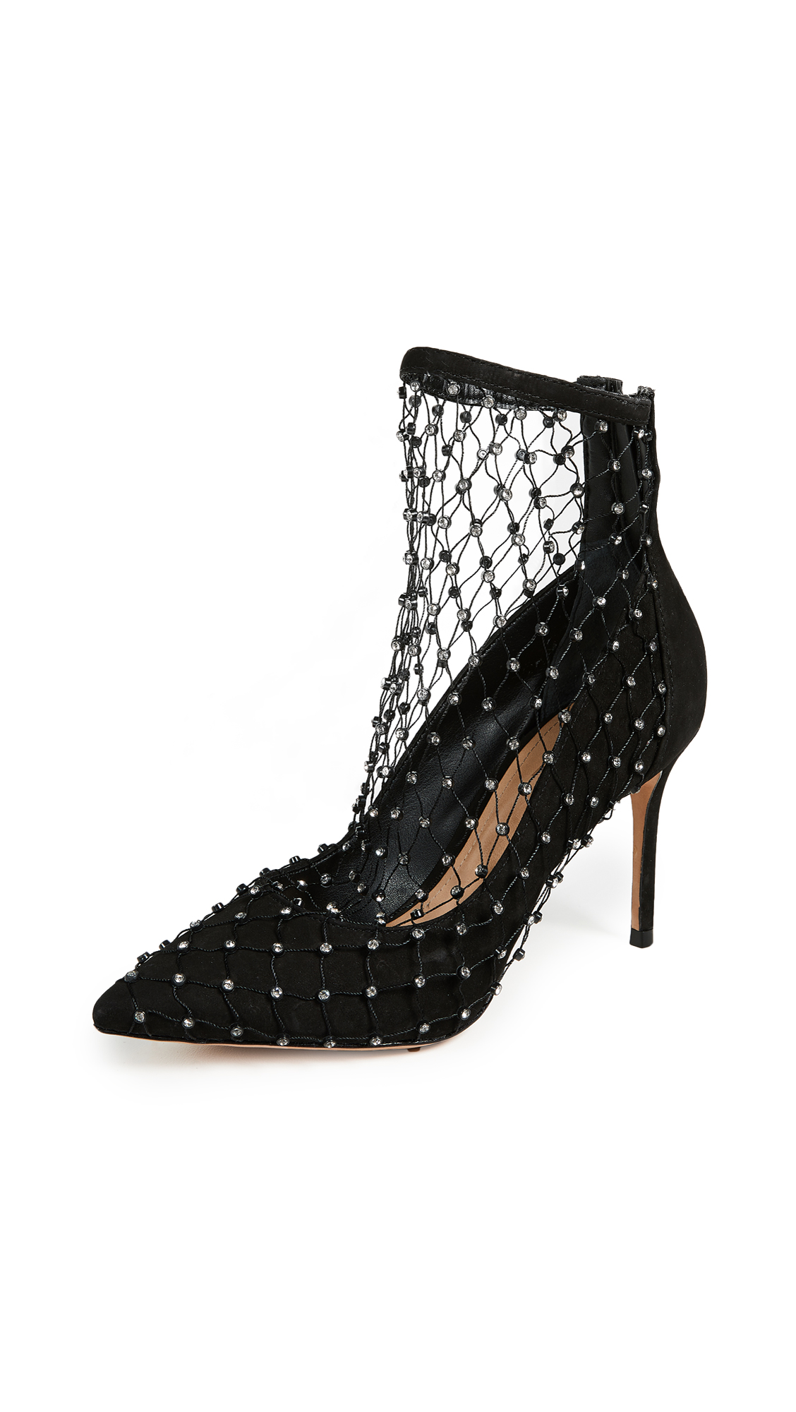 Schutz Chaya Mesh Pumps In Black