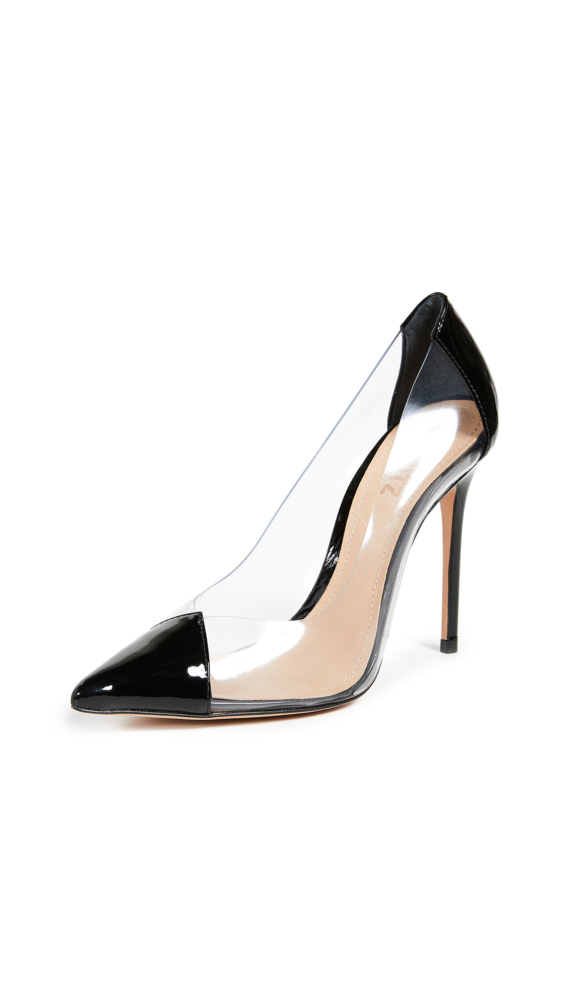 Schutz Cendi Point Toe Pumps - Black