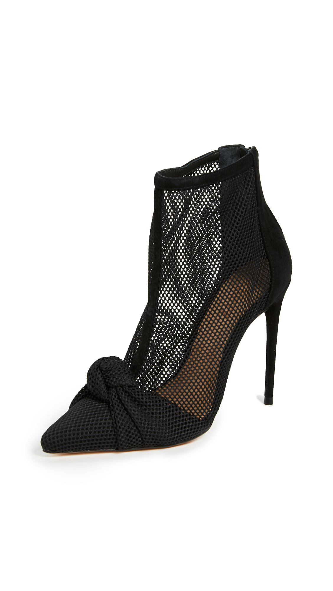 SCHUTZ Kessie Point Toe Booties in Black
