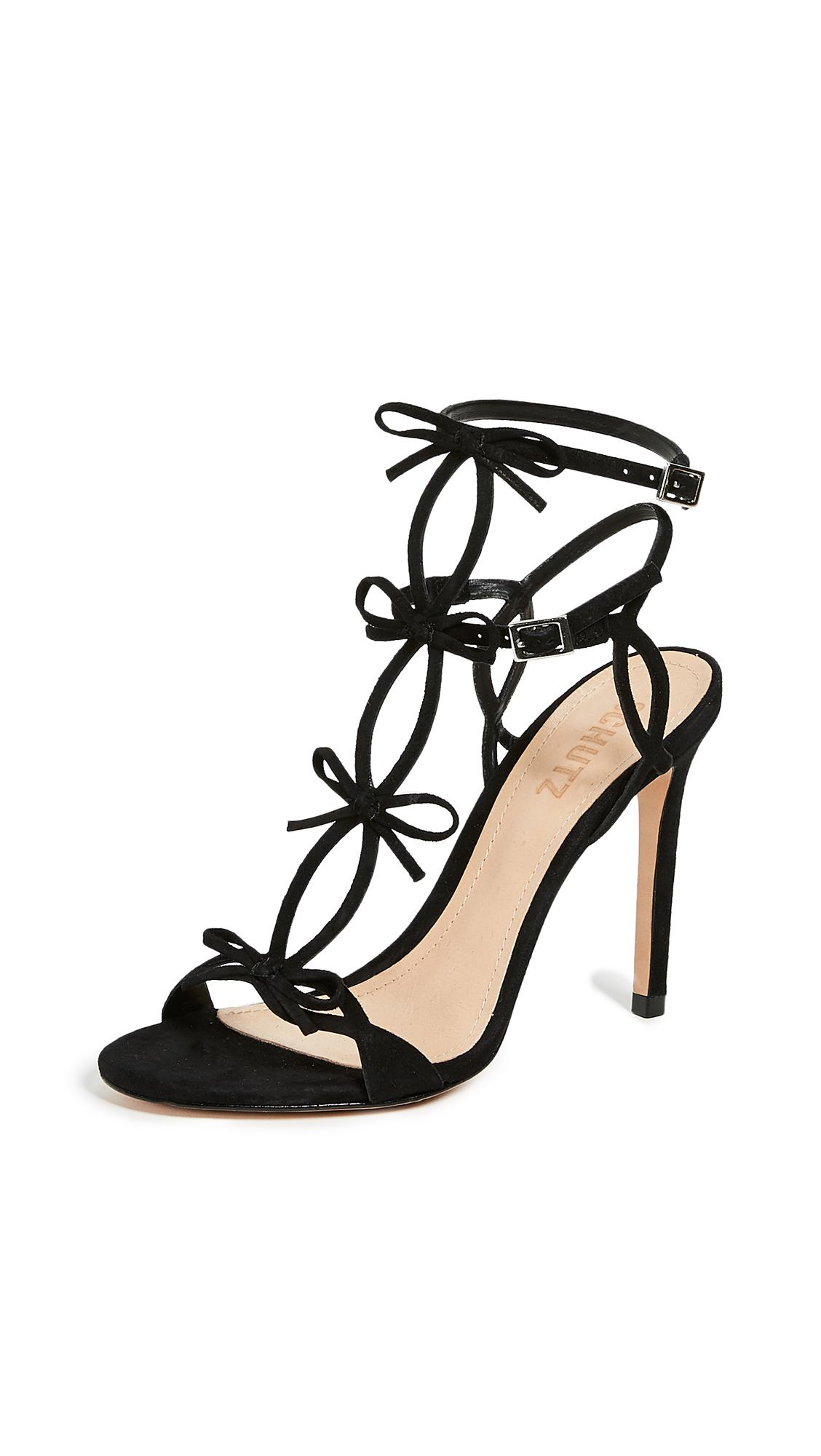 Schutz Moah Strappy Sandals - Black