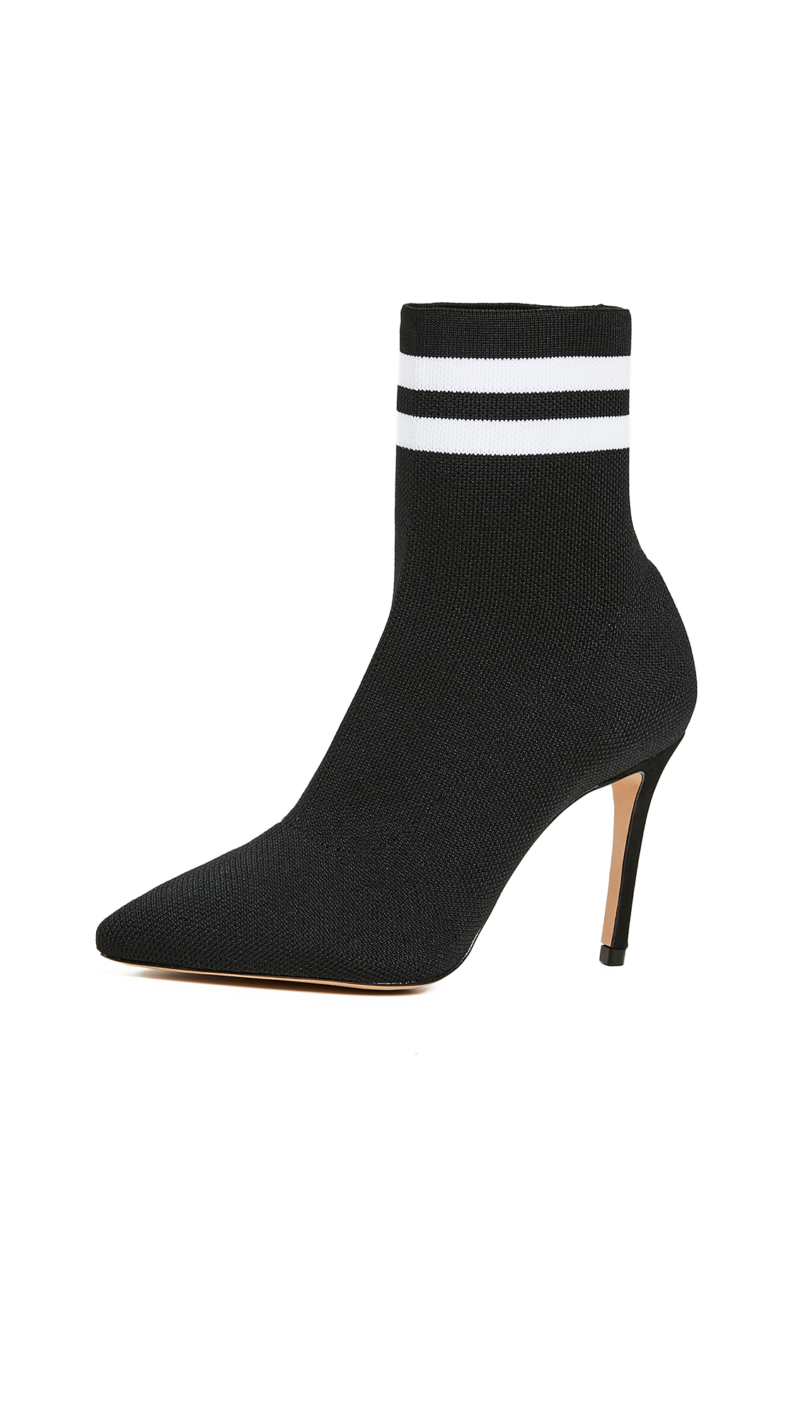 Schutz Gisela Sock Booties - Black