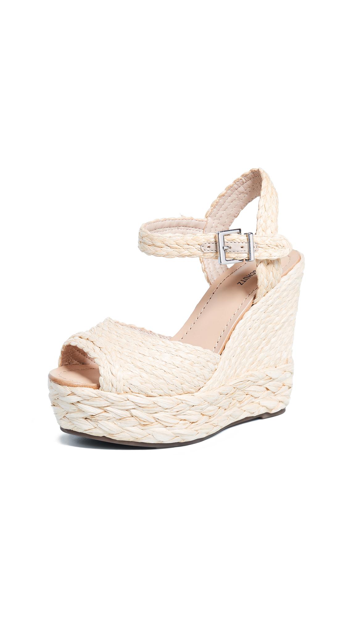 Schutz Belatrix Espadrille Sandals - Natural