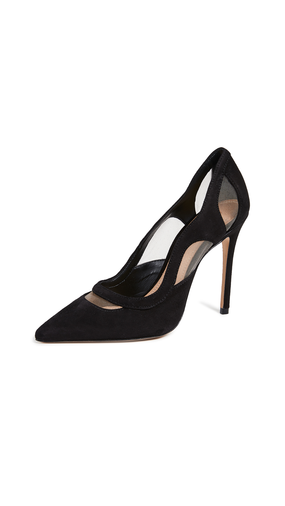 Schutz Poliany Point Toe Pumps - Black
