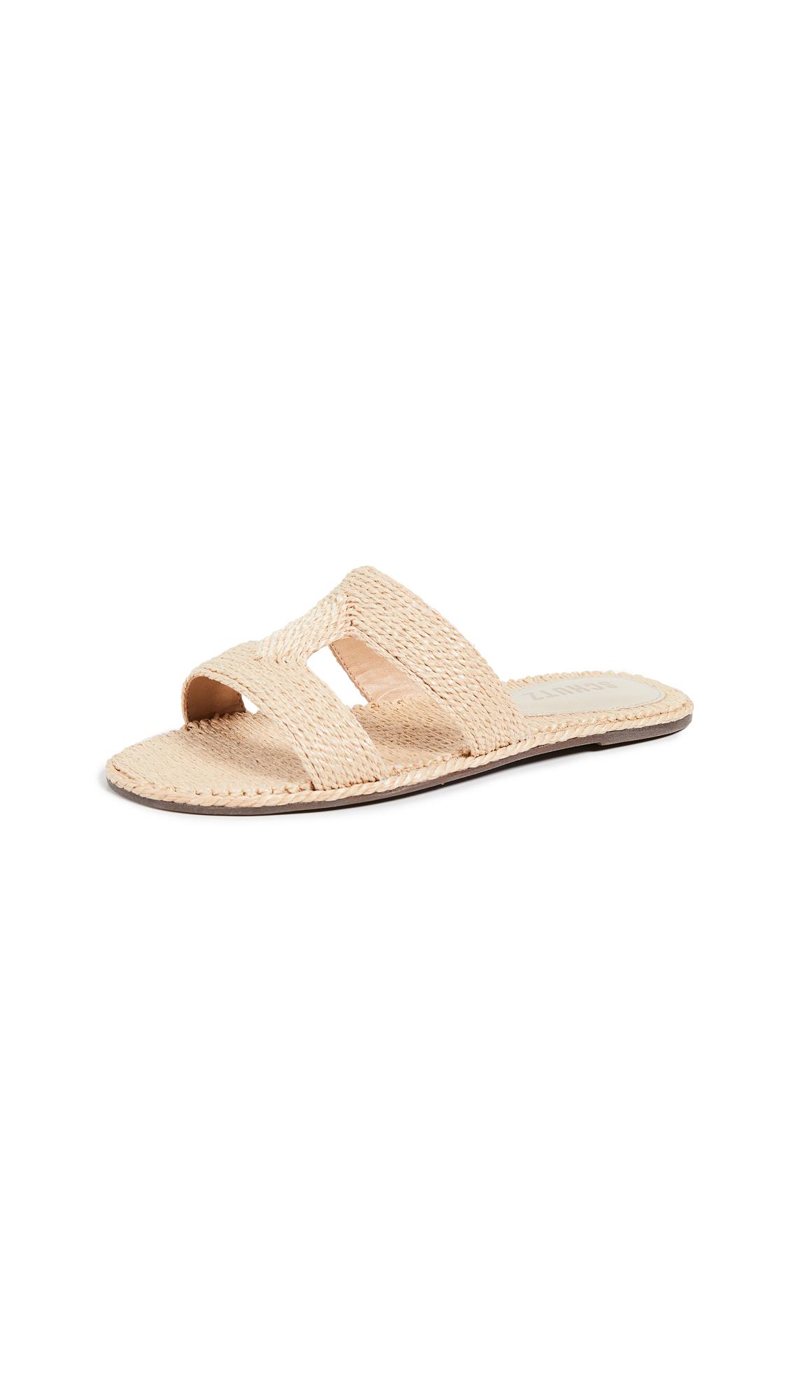 Schutz Tammya Sandals - Palha