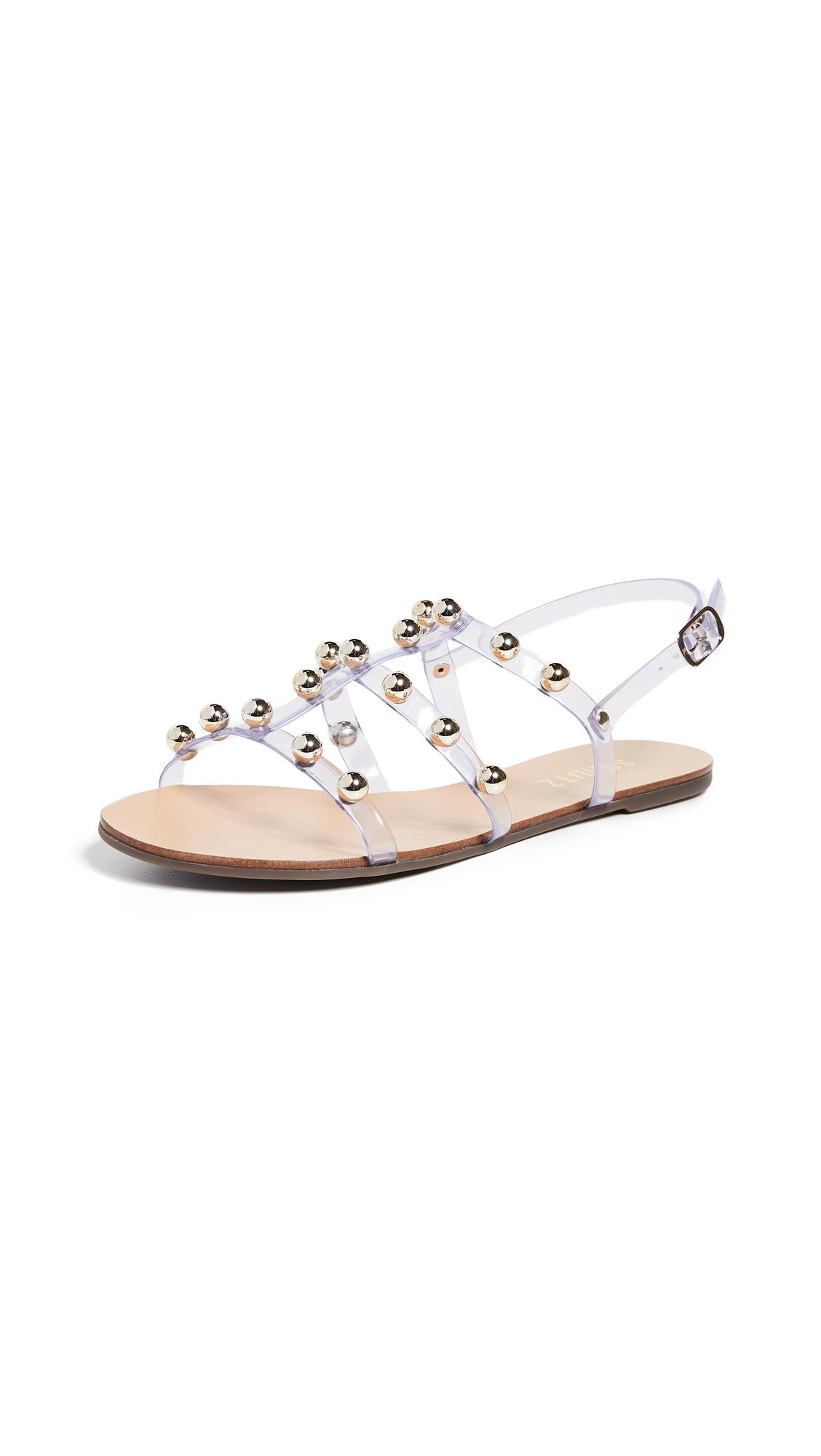 Buy Schutz Yarin Strappy Sandals online, shop Schutz