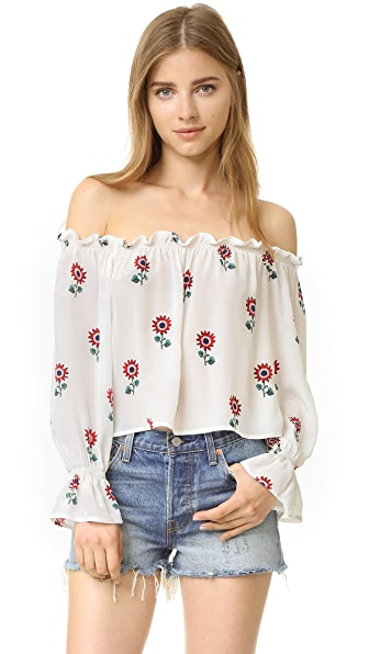 Stone Cold Fox Koshi Crop Top