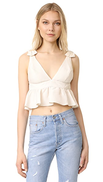 Stone Cold Fox Prato Crop Top